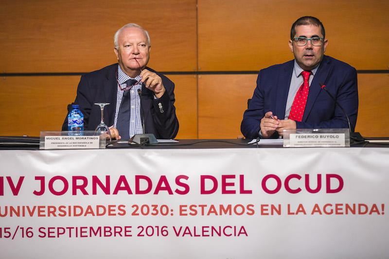 """IV JORNADAS DEL OCUD UNIVERSIDADES 2030: ESTAMOS EN LA AGENDA! 02 Conferencia inaugural """"La importancia de integrar la óptica del desarrollo sostenible en la misión de la universidad española"""""""